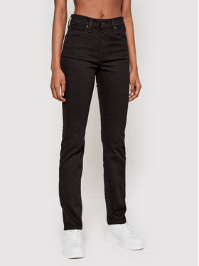 Levi's® Levi's® Traperice 724™ High-Rise Straight 18883-0006 Crna Straight Fit