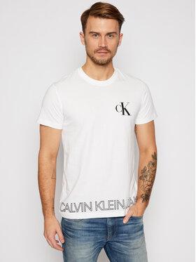Calvin Klein Jeans Calvin Klein Jeans Tricou J30J316457 Alb Regular Fit