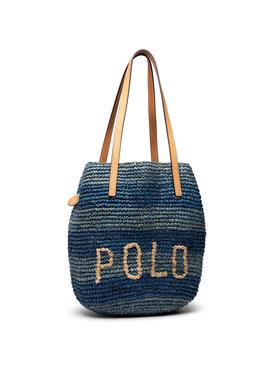 Polo Ralph Lauren Polo Ralph Lauren Дамска чанта Md P Raf 428834937001 Тъмносин