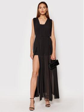 Rinascimento Rinascimento Večerní šaty CFC0103699003 Černá Regular Fit