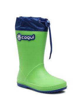Coqui Coqui Cizme de cauciuc Rainy Collar 8509-100-1420 Verde