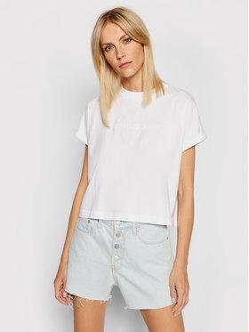 Calvin Klein Jeans Calvin Klein Jeans Marškinėliai J20J216347 Balta Relaxed Fit