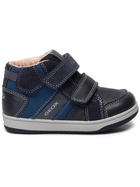 Geox Geox Sneakersy B N.Flick B.C B41LC 022AU CF44R D Tmavomodrá