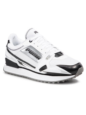 Puma Puma Sneakersy Mile Rider Sunny Gataway Wns 373443 05 Biały