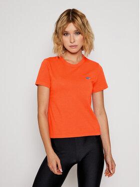 Vans Vans Marškinėliai Wm Vistaview VN0A47W9 Oranžinė Regular Fit