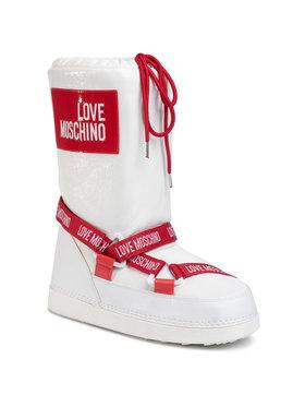 LOVE MOSCHINO LOVE MOSCHINO Śniegowce JA24032G1BIW2100 Biały