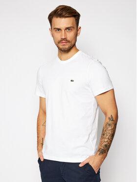 Lacoste Lacoste T-Shirt TH2038 Biały Regular Fit