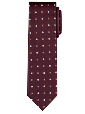 Vistula Vistula Krawat Barlet XY0595 Bordowy