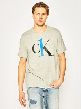 Calvin Klein Underwear Calvin Klein Underwear T-shirt 000NM1903E Siva Regular Fit
