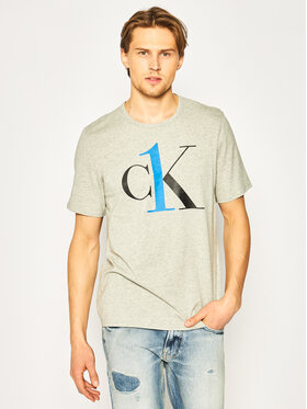 Calvin Klein Underwear Calvin Klein Underwear T-Shirt 000NM1903E Szary Regular Fit