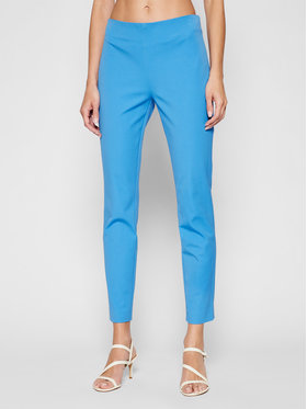 Lauren Ralph Lauren Lauren Ralph Lauren Pantalon en tissu 200631310030 Bleu Slim Fit