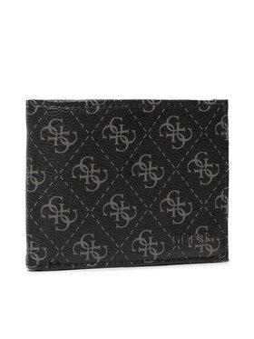 Guess Guess Veľká pánska peňaženka Vezzola (4G Logo Basique) Slg SMVEZL LEA20 Čierna