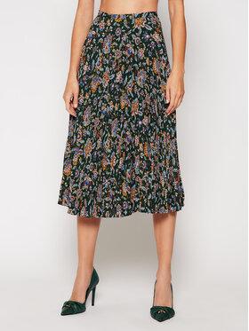 Lauren Ralph Lauren Lauren Ralph Lauren Fustă plisată Pine Multi 200816668001 Verde Regular Fit