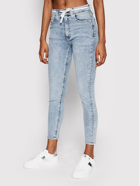 Calvin Klein Jeans Calvin Klein Jeans Jeansy J20J216295 Modrá Slim Fit