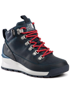 The North Face The North Face Chaussures de trekking Back-To-Berkeley Mid Wp NF0A4AZFV5Z Bleu marine