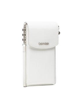 Calvin Klein Calvin Klein Дамска чанта Phone Pouch Xbody K60K608246 Бял