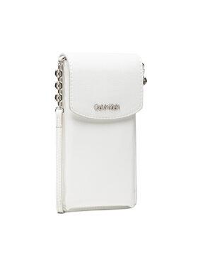 Calvin Klein Calvin Klein Sac à main Phone Pouch Xbody K60K608246 Blanc