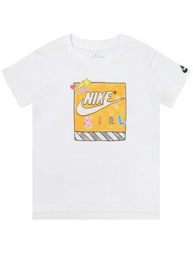 Nike Nike Тишърт CN2322 Бял Standard Fit