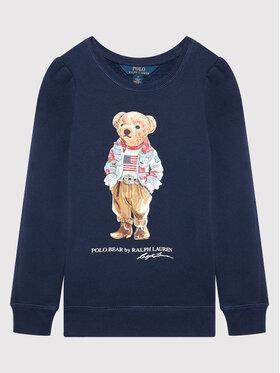 Polo Ralph Lauren Polo Ralph Lauren Mikina Bear 312850652002 Tmavomodrá Regular Fit