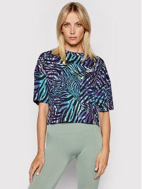 Puma Puma T-Shirt Cg Boyfriend 599619 Kolorowy Relaxed Fit