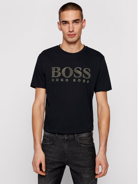 Boss Boss T-shirt TLogo 21 50450906 Nero Regular Fit
