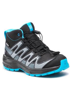 Salomon Salomon Обувки Xa Pro V8 Mid Cswp J 413449 09 W0 Черен