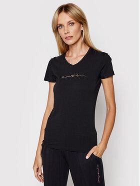 Emporio Armani Underwear Emporio Armani Underwear Marškinėliai 163321 1P223 00020 Juoda Regular Fit