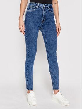 Calvin Klein Jeans Calvin Klein Jeans Τζιν High Rise J20J215787 Σκούρο μπλε Skinny Fit
