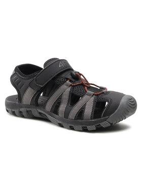 4F 4F Sandále H4L21-SAM003 Čierna