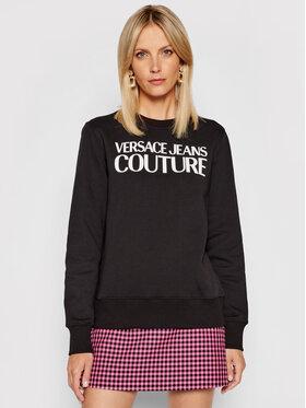Versace Jeans Couture Versace Jeans Couture Bluză Logo Rubber 71HAIF01 Negru Regular Fit