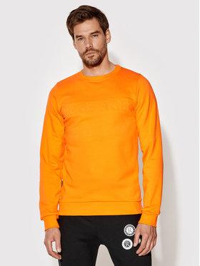 Rage Age Rage Age Sweatshirt Crewneck 1 Orange Slim Fit