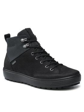 ECCO ECCO Šnurovacia obuv Soft 7 Tred M GORE-TEX 45011451707 Čierna