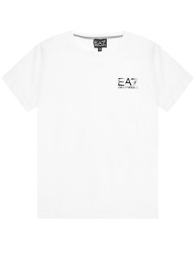 EA7 Emporio Armani EA7 Emporio Armani T-Shirt 3KBT51 BJ02Z 1100 Biały Regular Fit