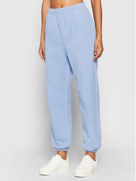 Kontatto Kontatto Spodnie dresowe SDK300A Niebieski Relaxed Fit