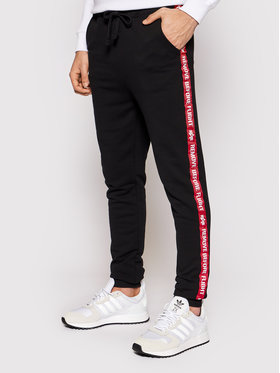 Alpha Industries Alpha Industries Joggers Rbf Tape 196317 Schwarz Regular Fit