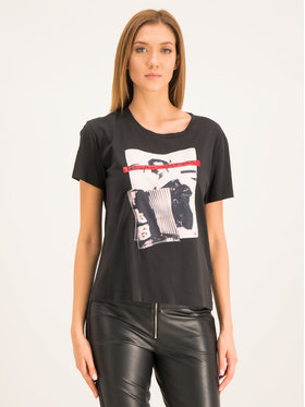 Emporio Armani Emporio Armani T-Shirt 6G2T7D 2J50Z 0999 Schwarz Regular Fit