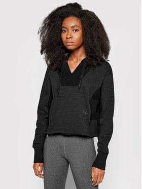 Under Armour Under Armour Bluza Ua Rival Fleece Embroidered Hoodie 1362421 Szary Loose Fit