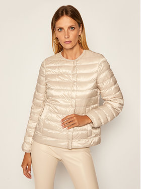 Weekend Max Mara Weekend Max Mara Pehelykabát Beirut 54860209 Bézs Regular Fit