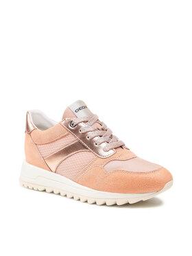 Geox Geox Sneakersy D Tabelya A D15AQA 02214 C8024 Oranžová