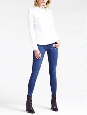 Guess Guess Jeans Slim Fit Annette W93A99 D3OR0 Blu scuro Slim Fit