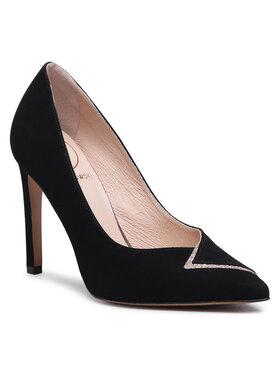 Baldowski Baldowski Pantofi cu toc subțire D03408-1451-002 Negru