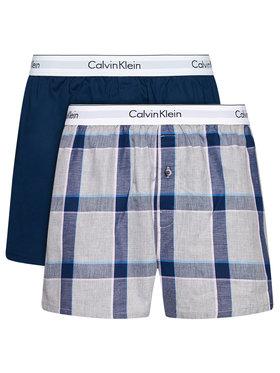 Calvin Klein Underwear Calvin Klein Underwear Комплект 2 чифта боксерки 000NB1396A Тъмносин
