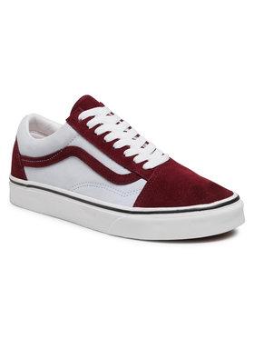 Vans Vans Sneakers aus Stoff Old Skool VN0A3WKT4PB1 Dunkelrot
