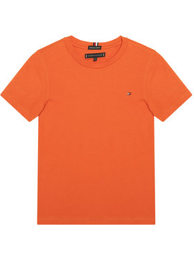 TOMMY HILFIGER TOMMY HILFIGER T-shirt Essential Tee KB0KB06130 M Orange Regular Fit