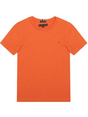 TOMMY HILFIGER TOMMY HILFIGER Тишърт Essential Tee KB0KB06130 M Оранжев Regular Fit