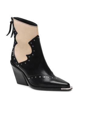 Bronx Bronx Členková obuv 34184-A Čierna