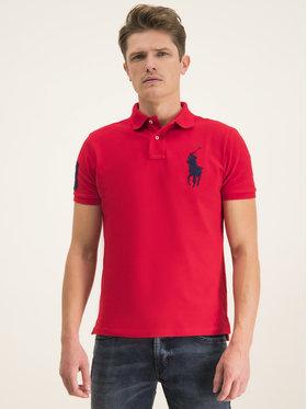 Polo Ralph Lauren Polokošeľa 710781433005 Červená Slim Fit