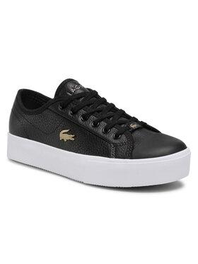 Lacoste Lacoste Sneakers aus Stoff Ziane Plus Grand 07211CFA 7-41CFA0054312 Schwarz