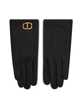 TWINSET TWINSET Dámske rukavice Guanti 212TO5012 Čierna