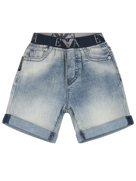 Emporio Armani Emporio Armani Szorty jeansowe 8NHS03 4DFJZ 0941 Granatowy Regular Fit